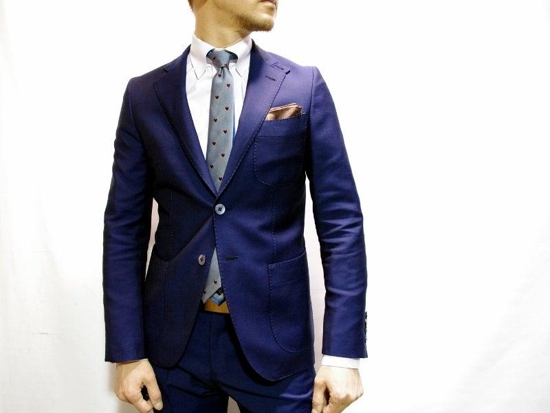 渋谷でスーツならavance青山店のブログ-パッチポケットスーツ