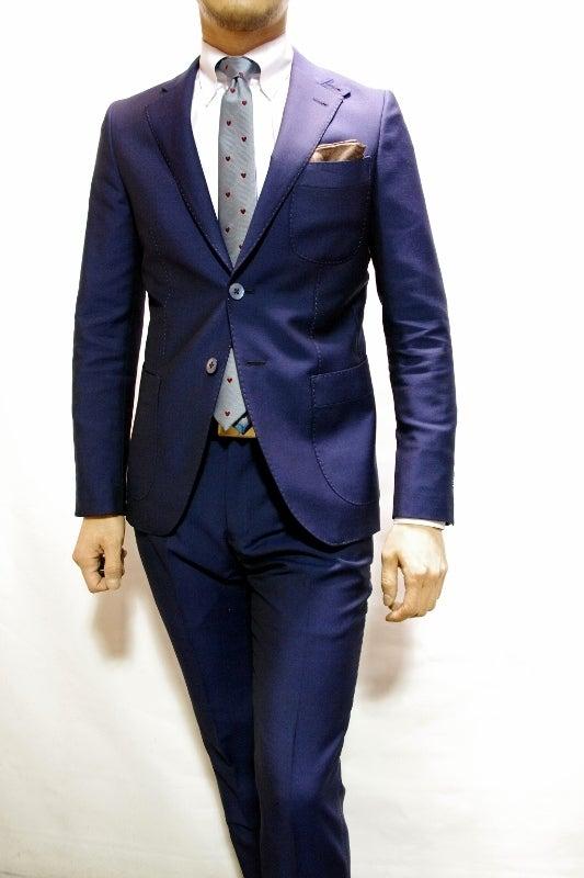 渋谷でスーツならavance青山店のブログ-ブルースーツ