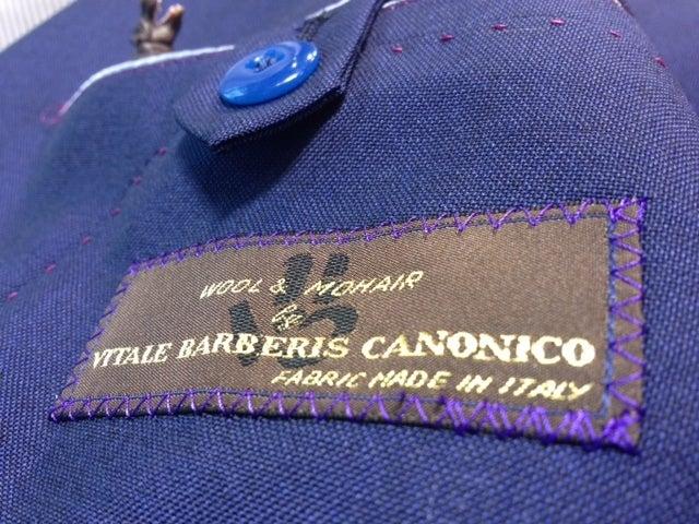渋谷でスーツならavance青山店のブログ-カノニコ モヘアウール