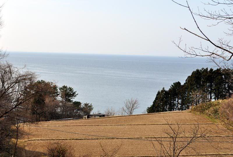 $白神山地ツアーの白神なびスタッフブログ-秋田県八峰町のJR五能線撮影スポット駐車場4