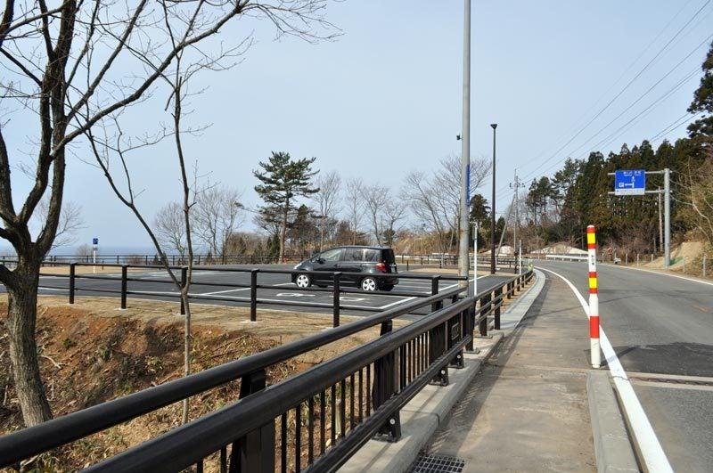 $白神山地ツアーの白神なびスタッフブログ-秋田県八峰町のJR五能線撮影スポット駐車場8