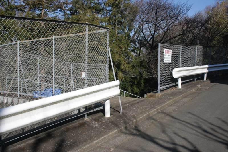 寺尾城(多摩)/城跡への入口