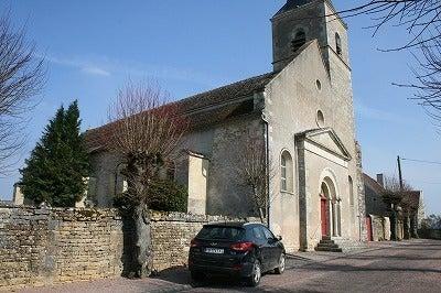 $フランスの田舎暮らし-教会