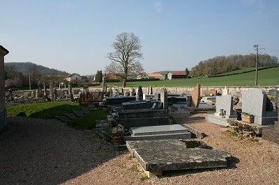 $フランスの田舎暮らし-墓地