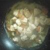 今日の夕御飯のメインはあるもので作ったオムライス♪の画像