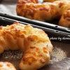 ツォップは、編んだ髪という意味で焼き立て編みこみパン♪の画像