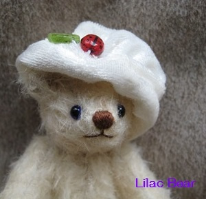 Lilac Bear ☆ 小さなテディベア作ってます。