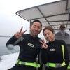 青の洞窟体験ダイビング&パラセーリングで今日も沖縄満喫です♪安心のテイクダイブ!!の画像