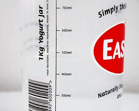 イージーヨー内容器に水を450ml入れる