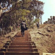 $芸術村の村長さんのブログ-300段の階段
