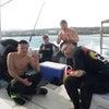 水納島チャーターで行ってきました!社員旅行のチャーターもお任せのテイクダイブ♪の画像