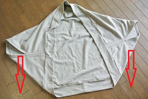 bd30e652063d6 作り方1 「まっすぐ縫うだけのドルマンカーディガン」
