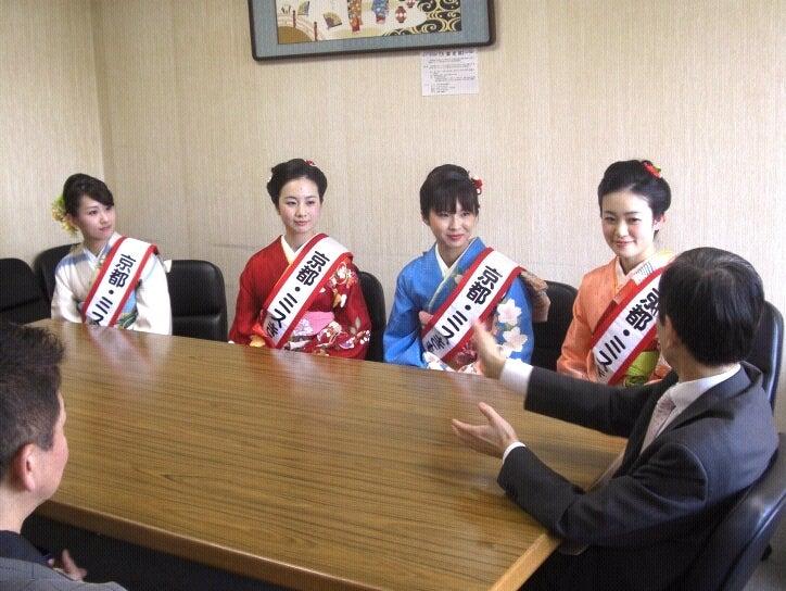 京都きものオーディション-染織工芸課へのご挨拶