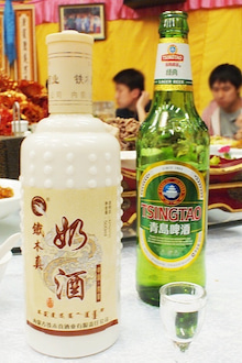 中国大連生活・観光旅行ニュース**-大連 汗格爾蒙古大営 モンゴル料理店