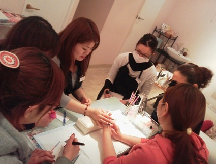 nail salon bluebeans 主宰高嶋りえのHappy nail life★