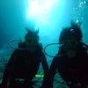 青の洞窟体験ダイビング&シュノーケルで沖縄再発見♪♪海外のお客様も大満足のテイクダイブ!!の画像