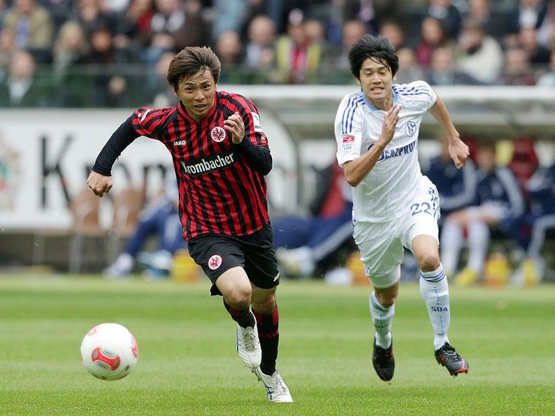 乾貴士 フランクフルト サッカー日本代表