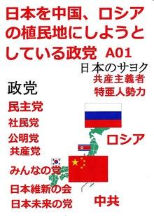 日本人の進路-日本を中国、ロシアの植民地に