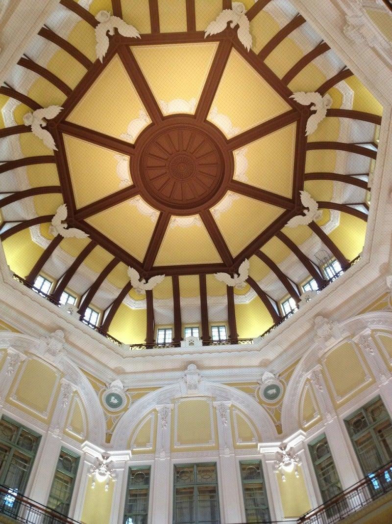 北陸富山の大工棟梁『肥塚建築』 建物・自然探訪-丸の内北口の天井