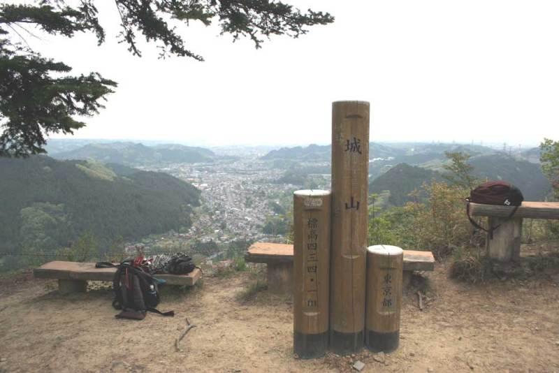 戸倉城/主郭からの眺め
