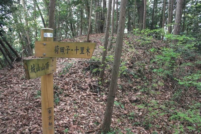 戸倉城/出丸
