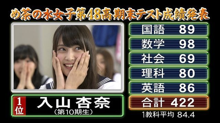 Akb48 テスト めちゃイケ