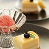 フレッシュパッションフルーツのレアチーズケーキ&バナナとベリーのジェラードの画像