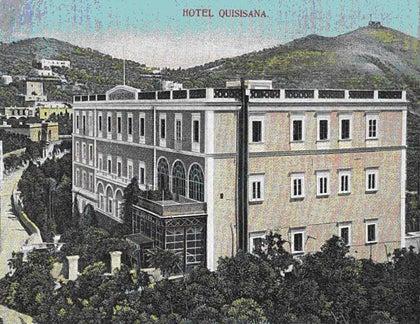 【彼女の恋した南イタリア】 - diario  イタリアリゾート最新情報    -1905年のクイシサーナ・・・当時から近代的でした