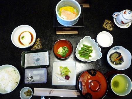 旅行の相談・案内役@遊寝食男のブログ-向瀧朝食