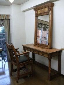 $オーダー家具・小物製作例 モダン・クラシック・カントリー・猫脚も木糸土にお任せ-オーダー家具クラシックカントリースタイルの鏡台