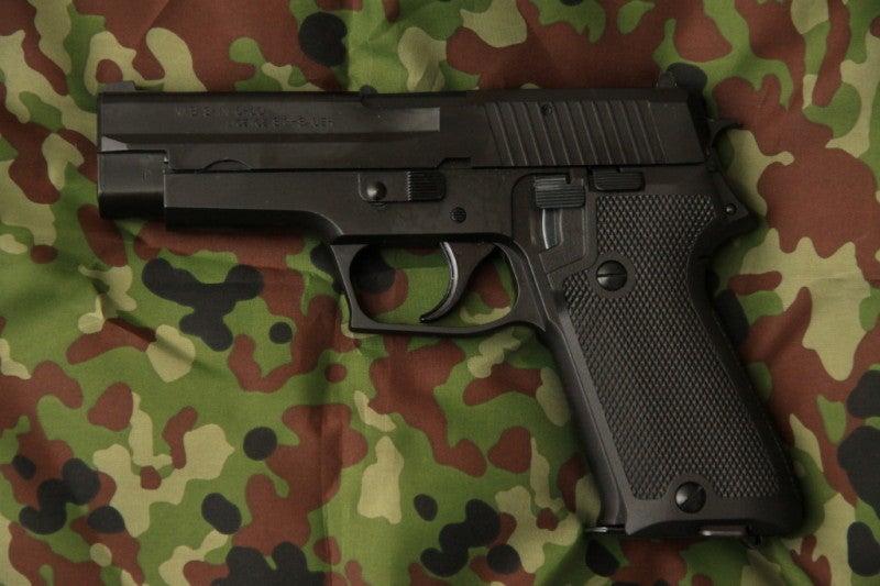 my銃紹介その9・タナカ ガスブロ9mm拳銃(SIG SAUER P220 ...