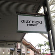 GILLY HICK…
