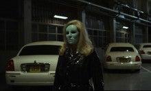 三角絞めでつかまえて-仮面を付けて帰宅