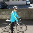 自転車気持ちよくて。