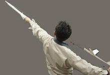 $空飛ぶものづくり教室のブログ-飛ばし方一人