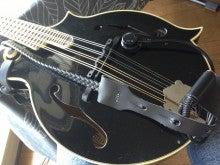 アコースティックギター、ウッドベース、ウクレレ、打楽器。何にでも使えるアコースティック用ピックアップMSP-お客様よりマンドリン