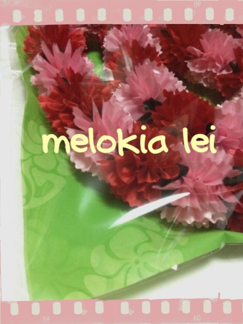 ~ Melokia Lei ~  ハワイアンリボンレイ・etc -__.JPG