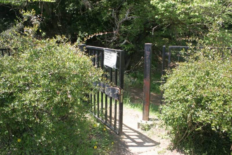 小田野城/城跡への入口