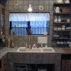 タイルトップL型+アイランド オリジナルキッチンの画像