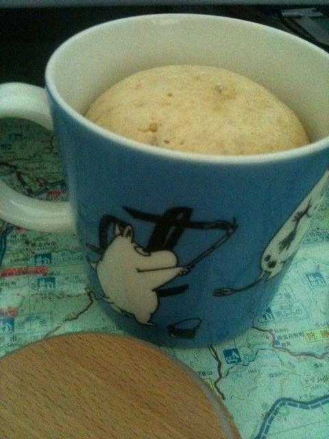 マグカップ 蒸し パン