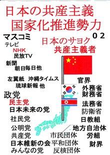 日本人の進路-日本の共産主義国家化推進勢力