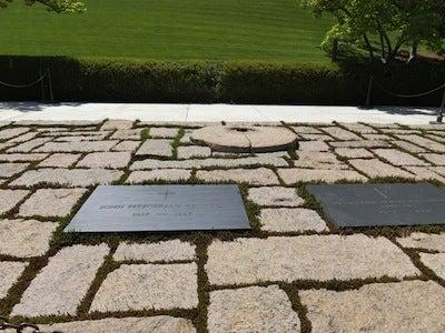 JFKのお墓1