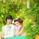 緑いっぱい☆ガーデンパークでウェディングフォトの記事より