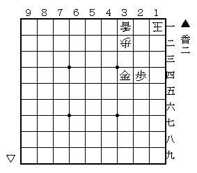 将棋・鹿田NOTE(の手) ~3手目▲1六歩からの軌跡~-大道詰将棋の世界 第2問