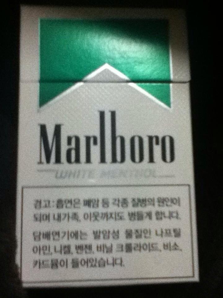韓国 マルボロ