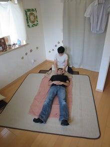 見方革命家まーくオフィシャルブログ-松井式の小顔施術♪