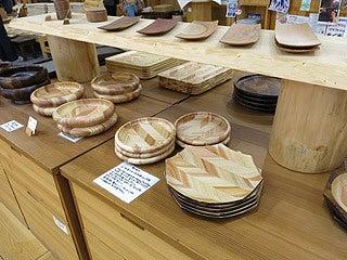 晴れのち曇り時々Ameブロ-売られていた木製の食器