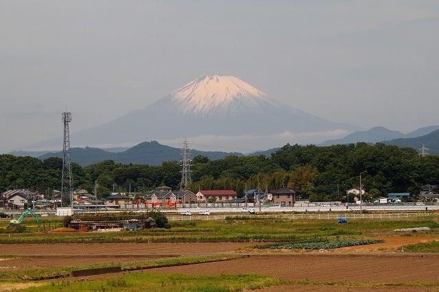 神奈川県平塚市から アイミーブ(i-MiEV)・太陽光発電・フレンチブル・エコラン・旅行-今日の富士山