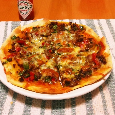 ピザ レシピ クリスピー