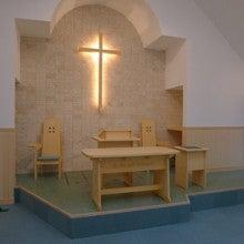 $オーダー家具・小物製作例 モダン・クラシック・カントリー・猫脚も木糸土にお任せ-オーダー家具聖壇におく教会用家具